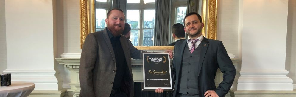 Society makes it three-in-a-row with Independent Bottler of the Year award